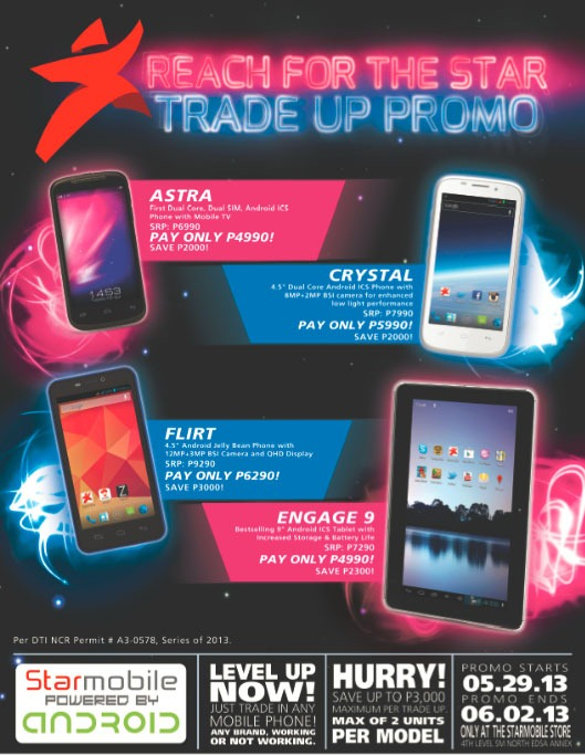 trade your old phone with starmobile 39 s trade up promo pinoy tech blog. Black Bedroom Furniture Sets. Home Design Ideas