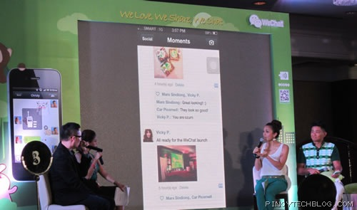 wechat launch