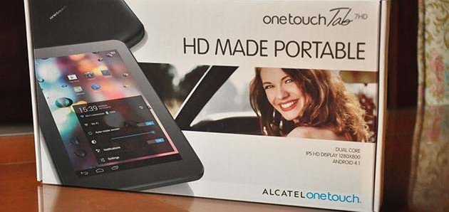 Quick Review: Alcatel One Touch Tab 7 HD
