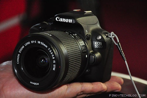 Canon EOS 100D, world's lightest and smallest APS-C DSLR