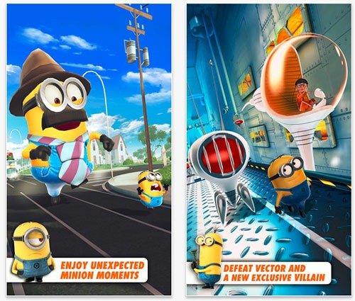 Play as a Minion and compete with others in order to impress your boss