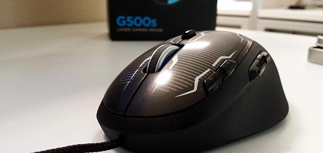 Logitech G500s Laser Gaming Mouse Review