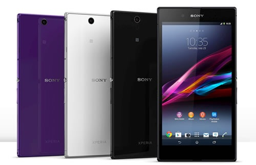 Sony Xperia Z Ultra colors