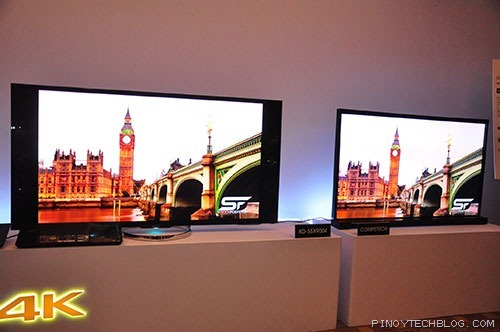 Sony-X-series-4K-vs-competitor