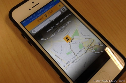 easy taxi iphone