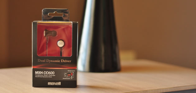 Maxell MXH-DD600 Dual Dynamic Earphones Review