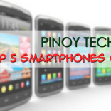 PTB's Top 5 Smartphones for 2013