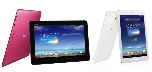 ASUS MeMO Pad 8 and MeMO Pad 10 Tablets Now Available