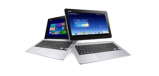 The Asus Transformer Book Trio is a Laptop, Tablet and Desktop PC in One Device