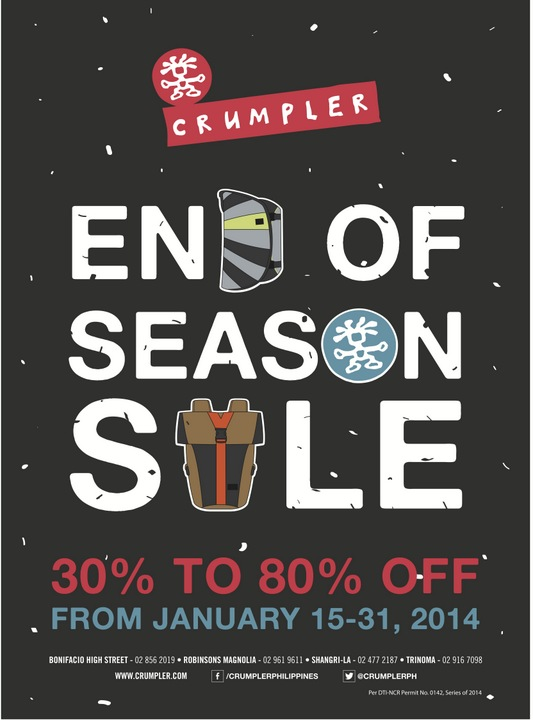 Crumpler End of Season Sale