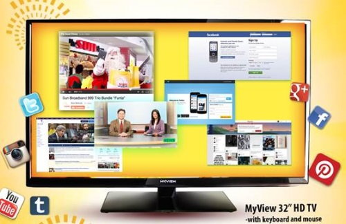 Sun Broadband Plan 1299 Free Smart TV, Tablet and Pocket WiFi