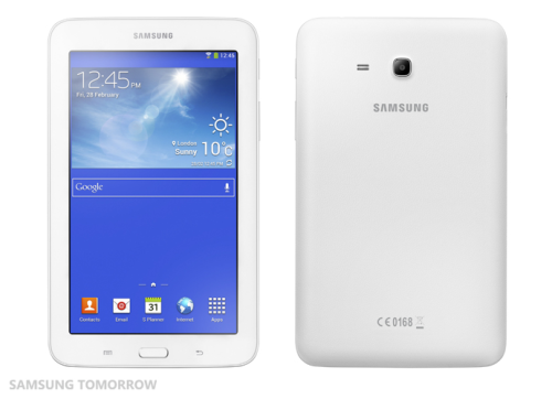 Samsung Announces the Galaxy Tab 3 Lite