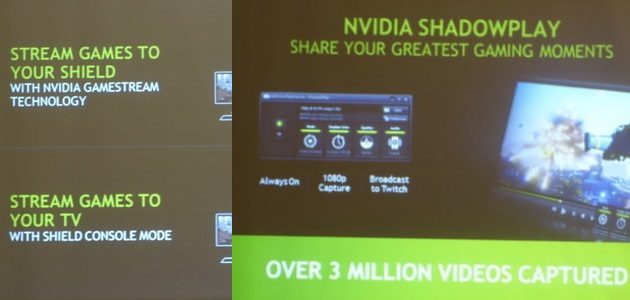 NVIDIA ShadowPlay, GameStream and G-SYNC