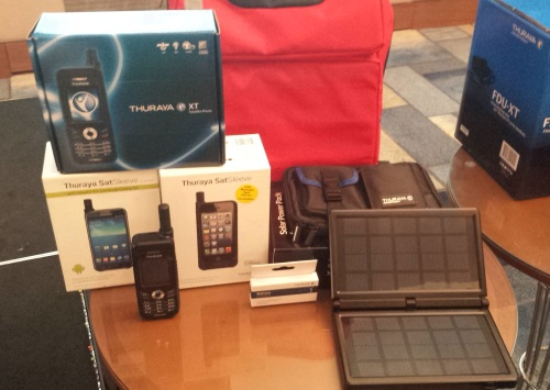 Convert Your iPhone 5  or 5s and Galaxy S4 into a Satellite Phone with SMART SatSleeve