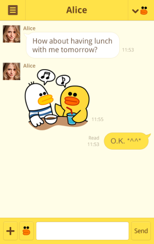 LINE Messaging App Theme Shop for Android and iOS Launched