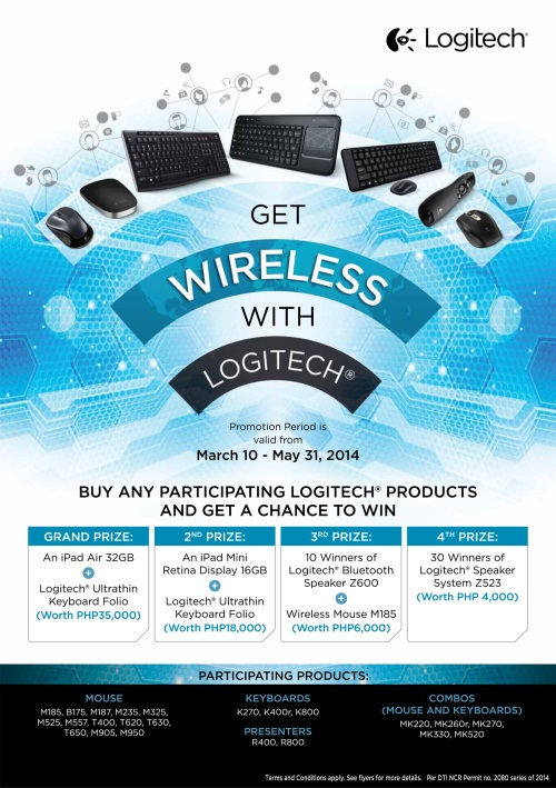 "Logitech ""Be Wireless with Logitech"" Promo"