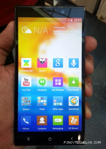 Gionee ELIFE E7 Launched