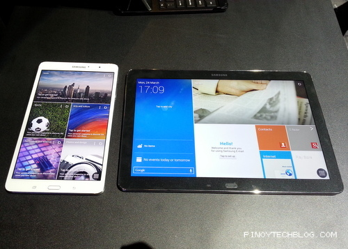 Samsung Intros Two New Galaxy PRO Tablets