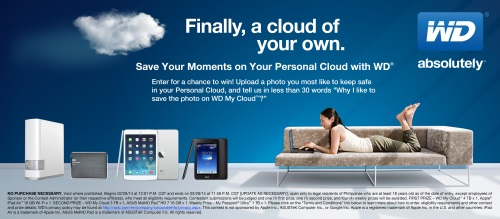 Western Digital Save Your Moments Facebook Contest