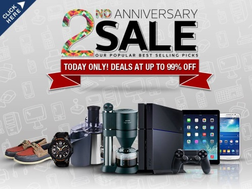 Lazada Philippines 2nd Anniversary Sale