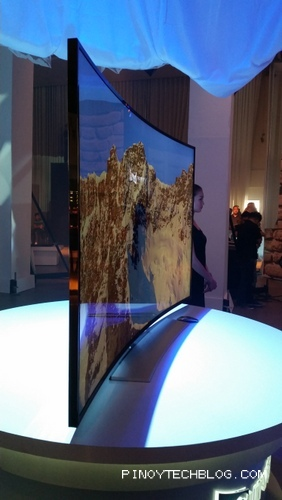 Samsung Intros World's First Curved Ultra High-Definition (UHD) TV
