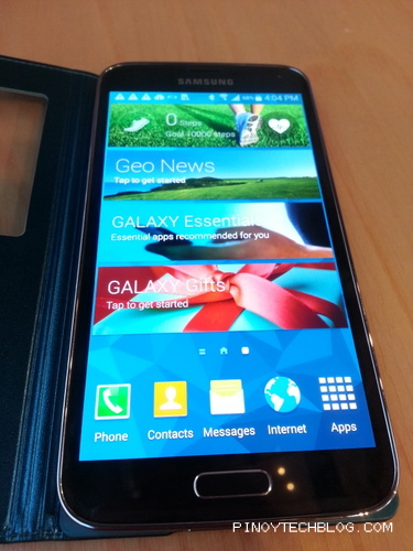 Samsung Galaxy S5 Official Specs
