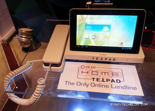 PLDT HOME Telpad Gets Quad Core Upgrade