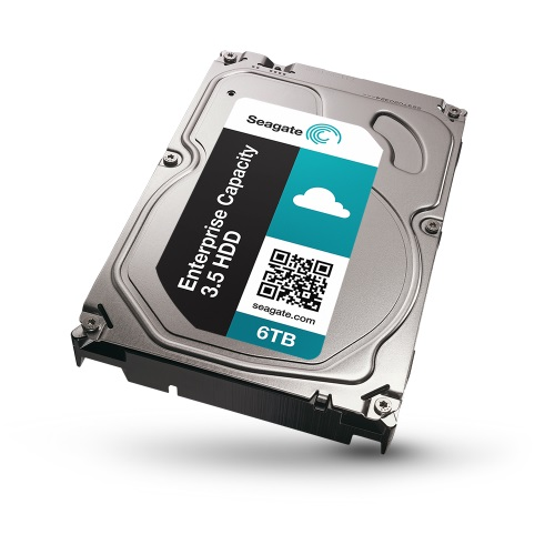Seagate ships fastest 6TB drive for public, private cloud data centers