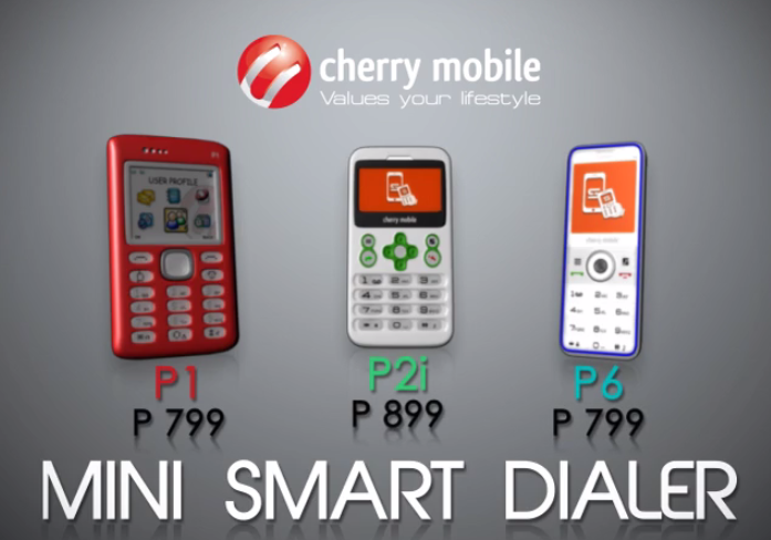 Cherry Mobile P1, P2i and P6 Mini Smart Dialer