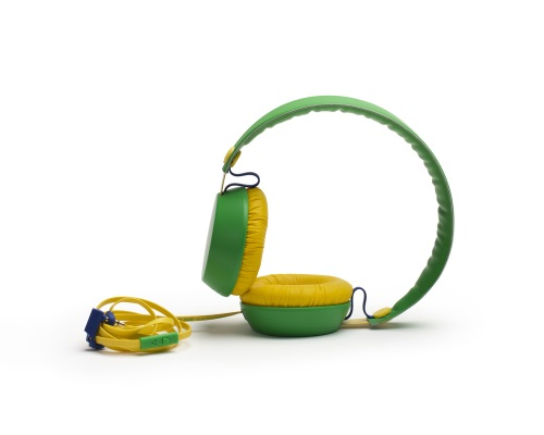 Coloud Headphones Football Edition Brazil