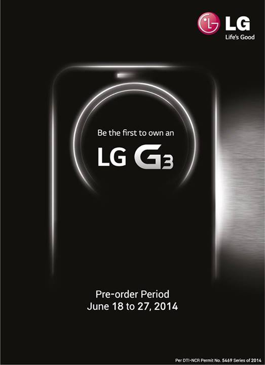 LG Philippines now accepting LG G3 pre-orders