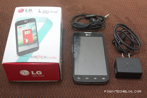LG L70 Dual Hands-on and Unboxing