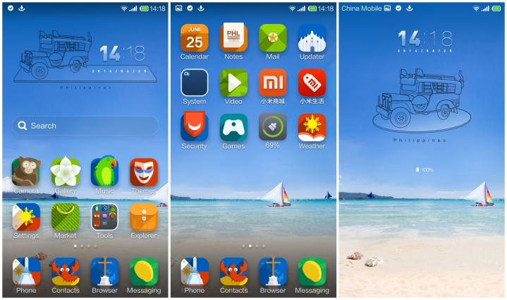 Philippines MIUI Theme now available for download
