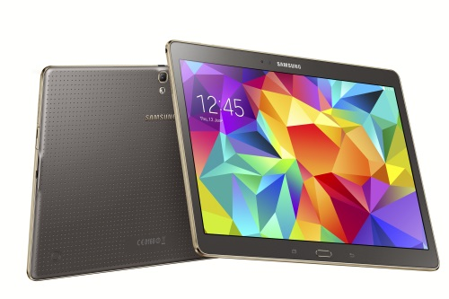 Samsung Galaxy Tab S 10.5 Inch tablet with Super AMOLED Display Launched