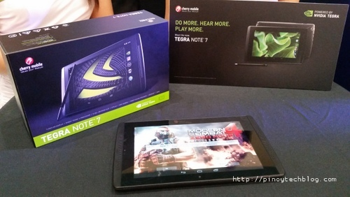 Hands On with the Cherry Mobile TEGRA NOTE 7 Tablet