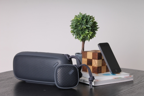 NudeAudio Monochrome Black Collection Bluetooth Speakers Now Available