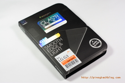 Spigen GLAStr Nano Slim Screen Protector for LG G3