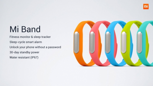 Mi Band is the cheapest smartband priced at Php 550