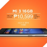 Mi 3 Flash Sale Tomorrow