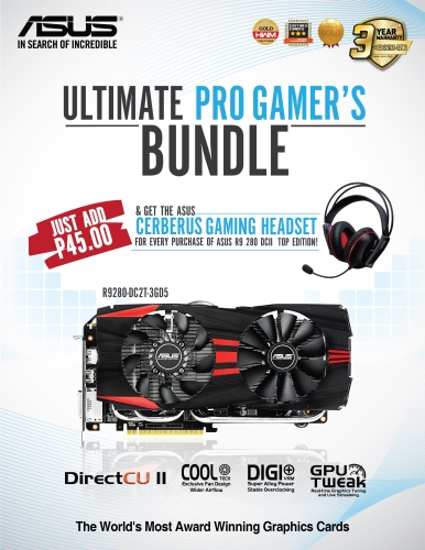 ASUS Ultimate Pro Gamer's Bundle