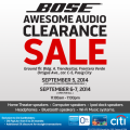 Bose Awesome audio clearance sale 2014-update final