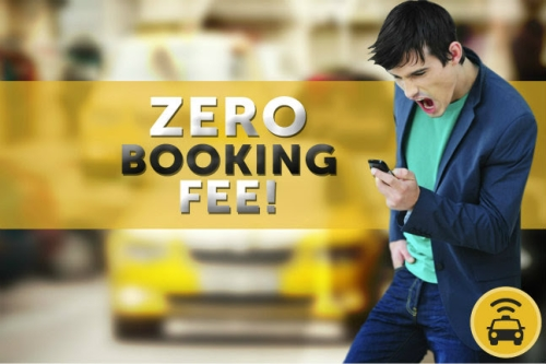 Easy Taxi's ZERO BOOKING FEE is back!