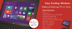 Cherry Mobile Alpha Morph 10-inch 1.33 GHz Quad Core Windows 8.1 Tablet