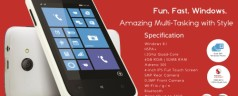 Cherry Mobile Alpha Style 4-inch 1.2 GHz Quad Core Windows 8.1 Smartphone