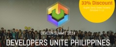 DevCon Summit 2014 Registration now open