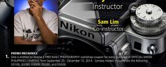 Nikon Philippines offers FREE Basic Photography Workshop