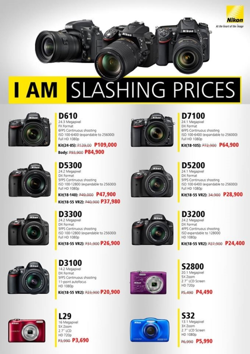 SM Cyberzone | Nikon Philippines Early Christmas Sale
