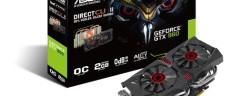 High-performance GPU: Asus  Strix GTX 960