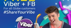 Globe to offer Free Facebook and Free Viber from January 13 to February 14, 2015