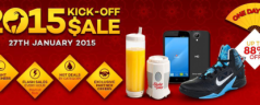 Get up to 88% discount on Lazada.com.ph's Chinese New Year Kick-Off Sale this January 27